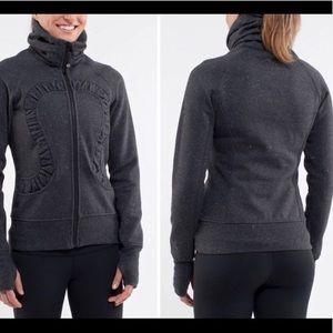 Lululemon zip up sweatshirt jacket sparkly 6